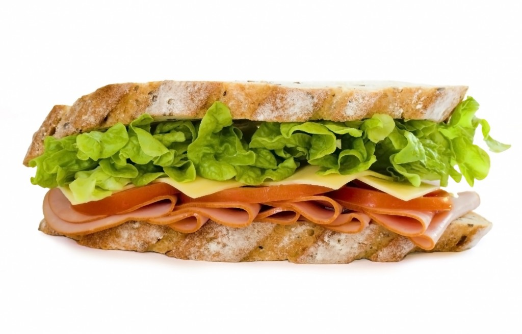A long sandwich.